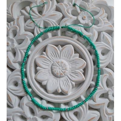 schuifkettinkje turquoise-groen