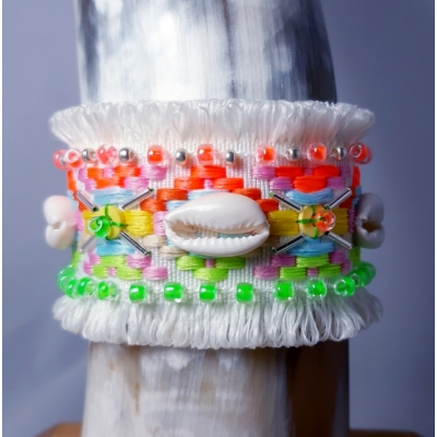 Ibiza armband  wit