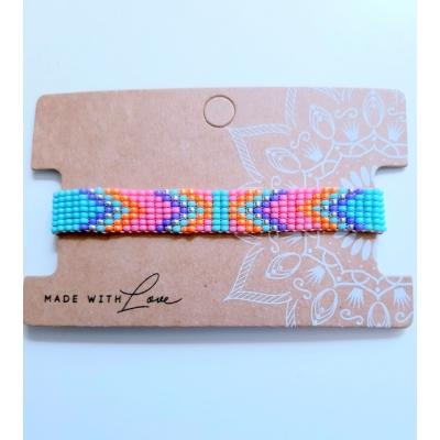 miyuki armband in felle kleurtjes VERKOCHT!