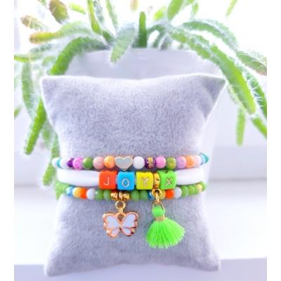 armband in bonte kleuren