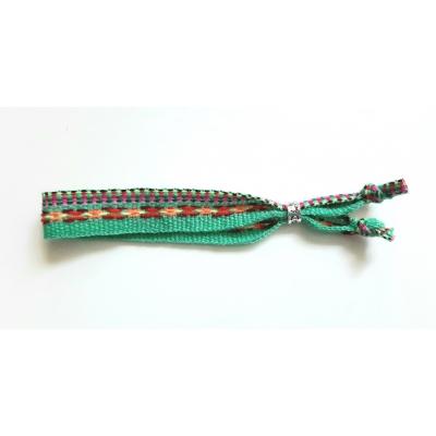 geweven boho armbandje groen
