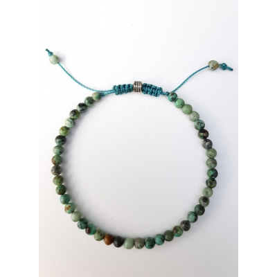 schuifarmbandje african turquoise